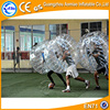 2016 crazy indoor sport inflatable ball suit/body zorb, giant buddy bumper ball for adult
