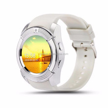 Top quality china smart watch phone rfid smart watchr V8