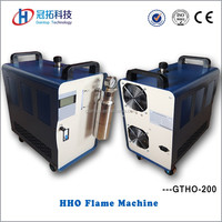Small portable sealing machine hho separate hydrogen from oxygen