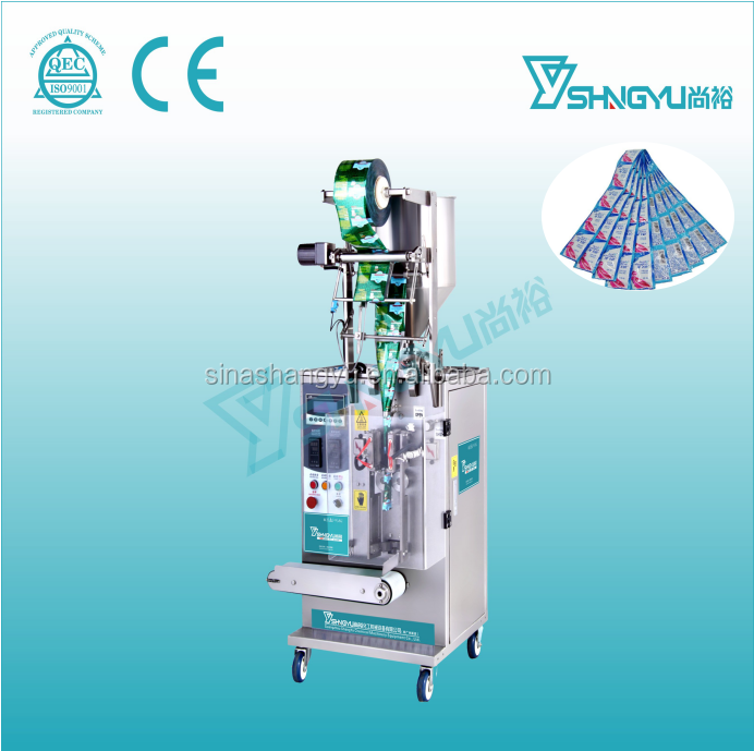 Pouch liquid filling packaging machine liquid form fill seal machine sachet olive oil packing machine