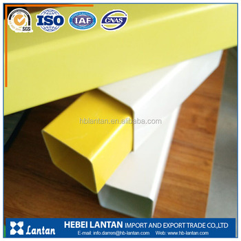 Factory supply large diameter ISO standard pvc square pipe price
