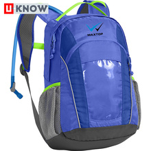 China supplier production polyester cheap waterproof hydration backpack