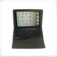 New design Basketball pattern Leather case bluetooth keyboard for Apple iPad Mini on China market P-iPDMINICASE040