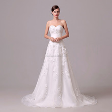 Simple cheap sweetheart a-line organza very sexy wedding dresses for beach weddings