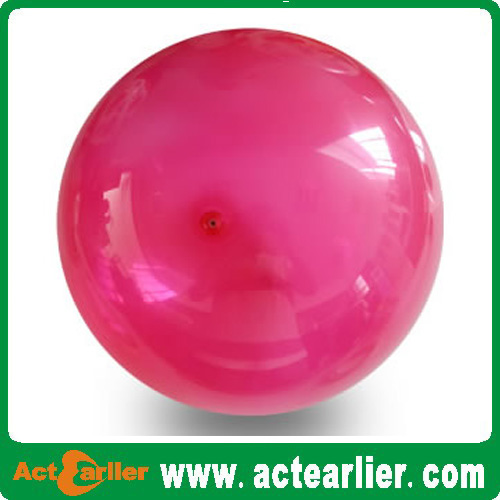 9'' inflatable plain color vinyl toy ball