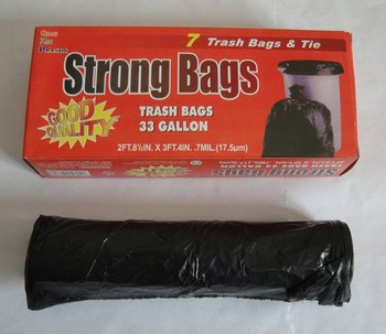 draw string garbage bags