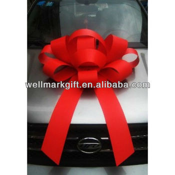30 inch Huge Outdoor Red Magic Car Showroom Decoration Bow