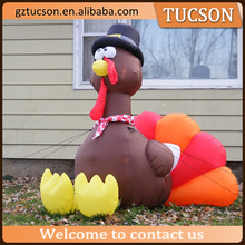 Outdoor advertising giant inflatable turkey cartoon for publicity