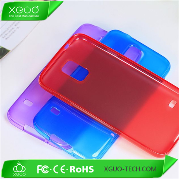 Low price Soft TPU clear phone case for Samung Galaxy S5