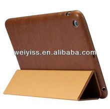 Vintage Genuine Leather Smart Cover Case for iPad mini