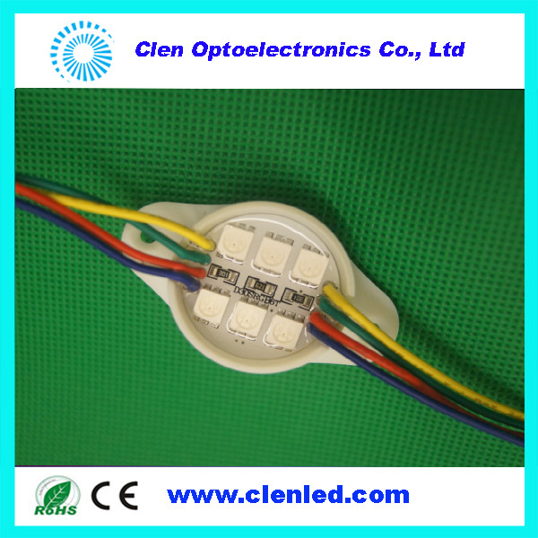 Addressable RGB LED Module LPD8806 Pixel LED Module Programmable Pixel RGB LED Module LPD8806 DC12V Waterproof