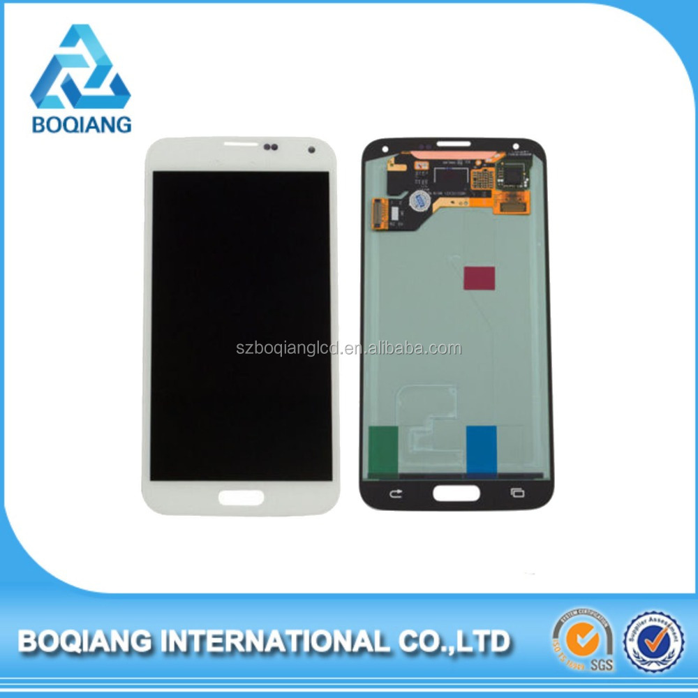 100% Original stable quality screen lcd replacement for samsung galaxy s5 phone unlocked from China