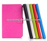 High quality PU wallet case pouch bag for Samsung Galaxy Tab 3 lite 7 inch