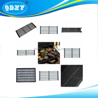Double Burner Griddle Stove Top Gas Cast Iron Grilling Preseasoned Grill Plates