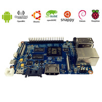 2016 the most popular real SATA controller boards available Banana Pi M1 plus better than DragonBoard 410c