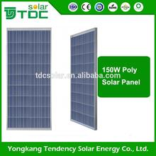 New Design Polycrystalline Silicon suntech solar panel 150w With Promotional Price