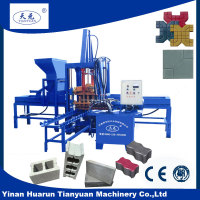 Competitive price QT3-15 concrete brick making machine landscaping paver block machine