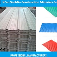 Colored ASA PVC Upvc Plastic Roof