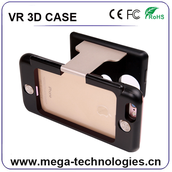 Factory Wholesale Price VR Case 5 Virtual Reality Glasses 3D Mobile Phone Open Blue Film Sex Video