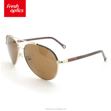 BS1390 China wholesale polarized sunglasses with metal frame