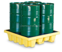 Rotomolding Four Drum Containment Pallet with High Quality