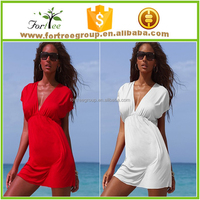 casual floral beach party wear dress