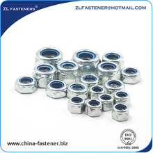 galvanized DIN 980 Metal Insert Hex Lock Nut