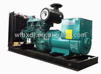 CE ISO EPA 10KVA-1875KVA gen power generator with famous brand engine for hot sales