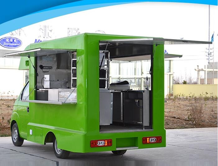 Diner street business customized food cart frozen food for Food truck design app