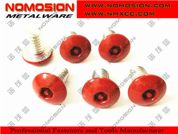 Torx screw STAR SCREW Red paint head self tapping screw