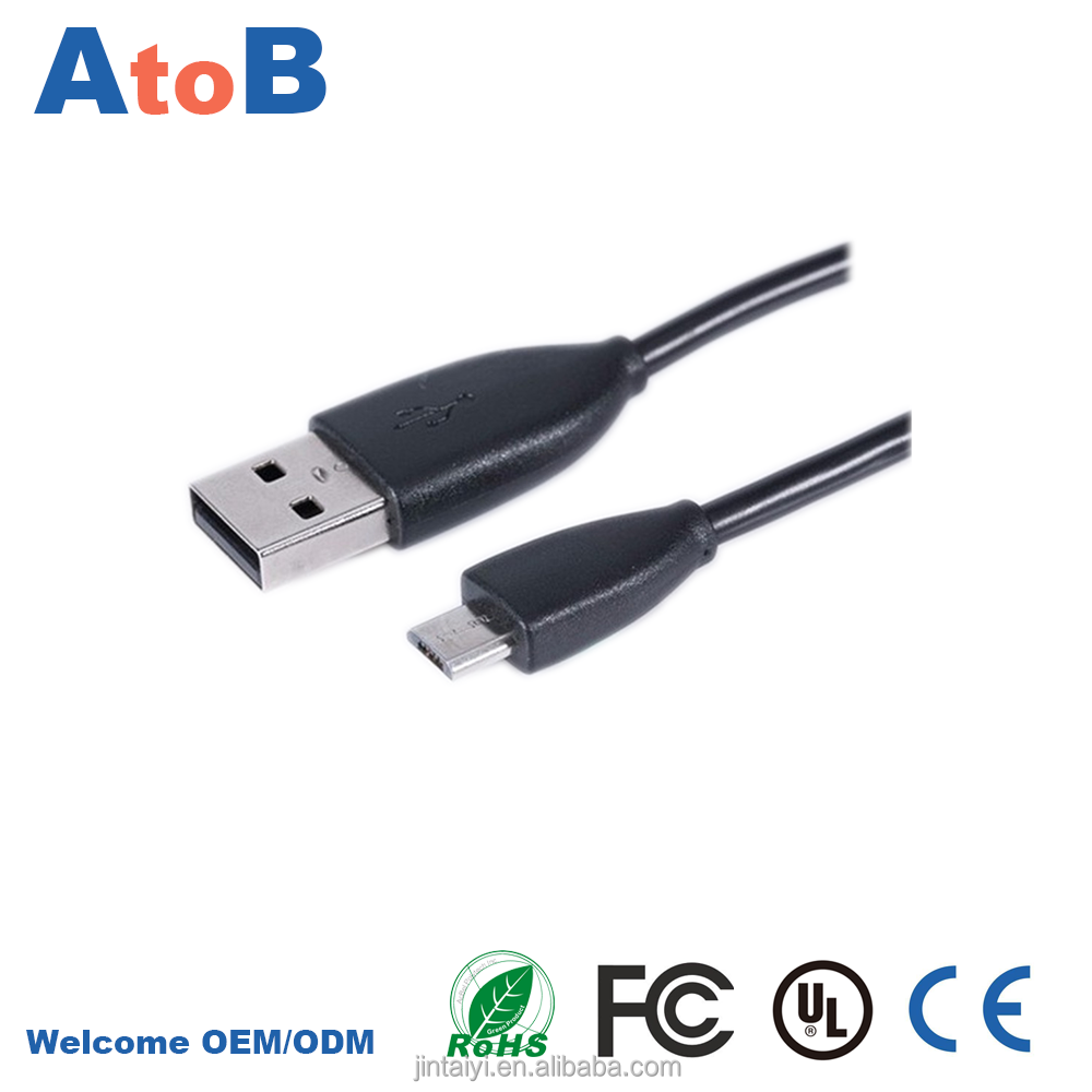 micro usb to usb adapter with Fast charger USB2.0 micro usb data cable