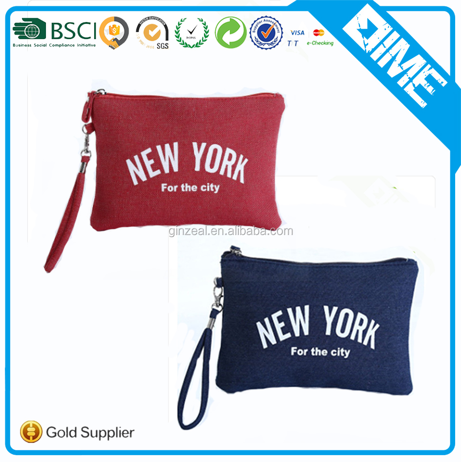 Cheap Promotion Gift Canvas Make Up Bag