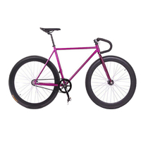 Hot sale complete bicycle 2 wheel fixed gear bike 700C track bicycle pure vintage bike fixie SW-CB-M0424
