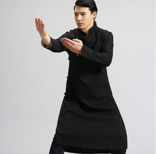 Wholesale High Quality Spring Autumn Cotton Linen tai chi uniform clothes for man