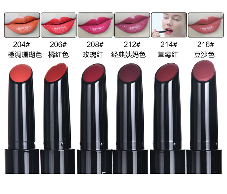 custom logo matte lipstick pencil for long lasting