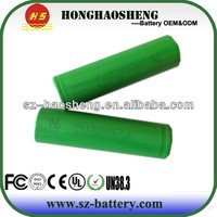 Rechargeable 2600mah 18650 battery for Sony US18650 batteries vtc5