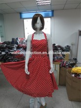 Clothes walson China factory Gorgeous bright red tea dress 1950s rockabilly fit and flare pin up Net size 12