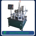 Beverage application cup filling and sealing machine