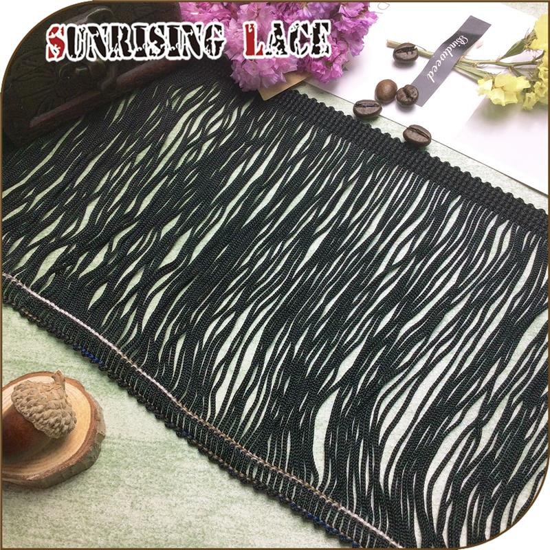 Textile Accessories Factory Dress Rayon Chainette Tassel Fringe