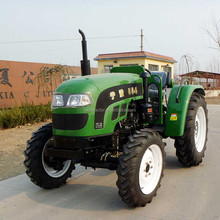 top quality CE approved 55HP tractors with 4 in 1 Front end loader And A/C Cabin