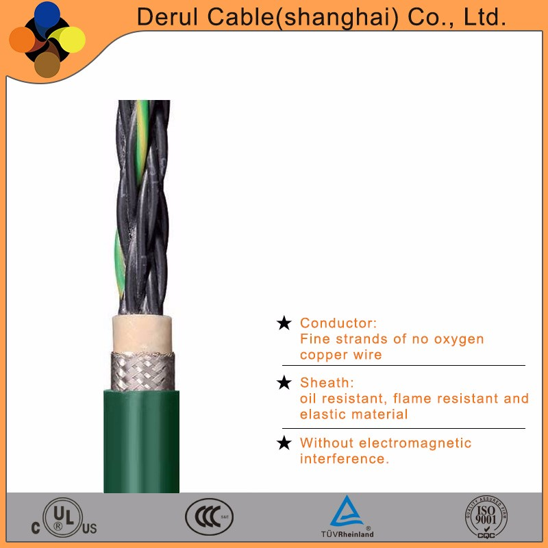 Medium voltage flexible waterproof electrical cable
