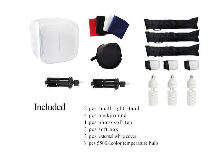 photo soft box light tent kit with small light stand  sc 1 st  Shaoxing Shangyu Senyeah Photographic Equipments Co. Ltd. - Alibaba & photo soft box light tent kit with small light stand View photo ...