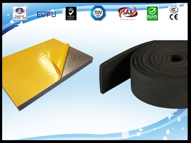 adhesive EPDM foam rubber sheet/rubber floor mat /rubber flooring mat