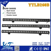 Y&T new products 4x4 accessories Led light bar, 52 inch curved led light bar, dot approved led light bar used cars in dubai