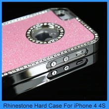 Design your own rhinestone cell phone cases stone bling case for iphone 4 4s