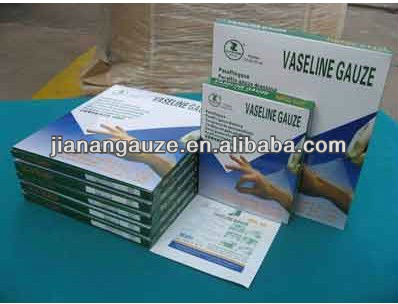 Medical Paraffin /vaseline Gauze Swab