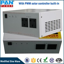 with PWM solar controller built-in 600w modified sine wave solar inverter