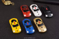 mini F5 Unlocked Sports car style mobile phone Dual Band Dual SIM MP3 phone