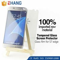 Product quality protector 9h 0.33mm Anti fingerprint tempered glass screen protector for samsung galaxy a8