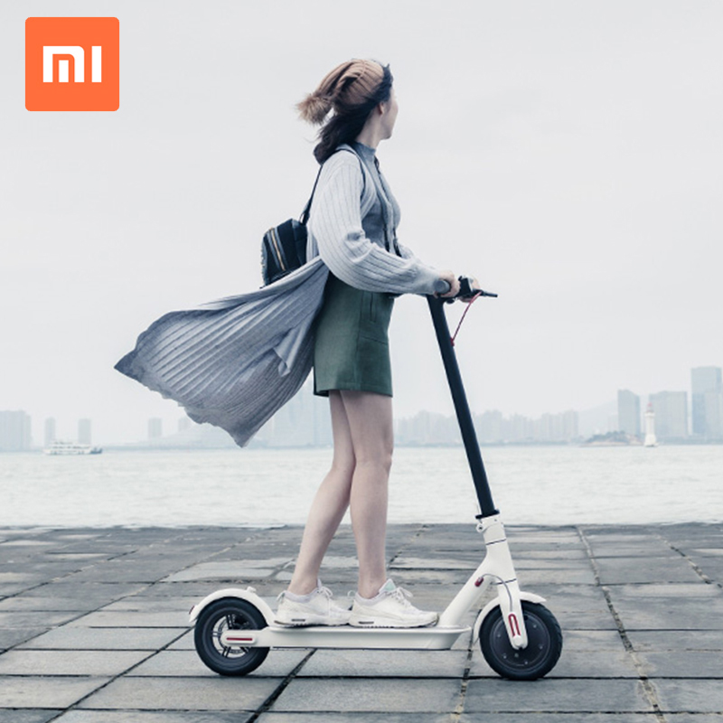 2 Wheels Smart Electric Scooter with Handle Xiaomi Mijia Brand Wholesale